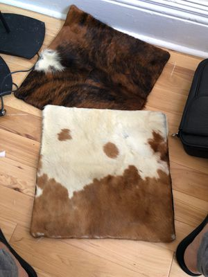 Leather pillow cases for Sale in Queens, NY
