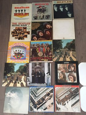 The Beatles Vinyl collection for Sale in Norfolk, VA