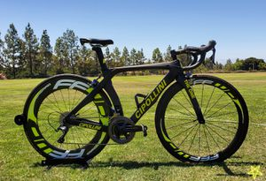 2019 Custom Built Taiwan-Made Carbon FRAME Road Bike Size Small 52cm for Sale in San Diego, CA
