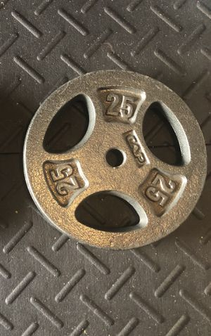 CAP 25lb plate for Sale in Austin, TX