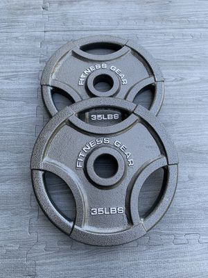 35lb Olympic 2inch Plates (Brand New) for Sale in Riverside, CA