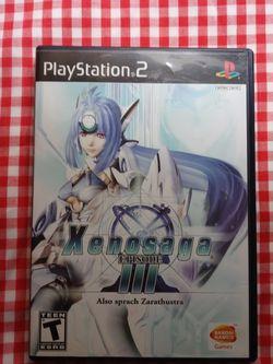 Xenosaga Episode 3 PS2 Videogame for Sale in Santa Clara,  CA