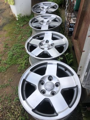"""C10 wheels / Jeep 5x5. 17"""". X 7.5 for Sale in National City, CA"""