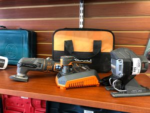 Ridgid MultiTool Cordless 12v w/ Accessories for Sale in Los Angeles, CA