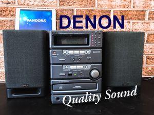 Denon Micro HI-FI System for Sale in Silver Spring, MD