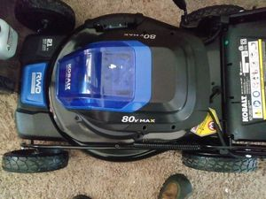 80 volt electric lawn mower for Sale in Wyandotte, MI