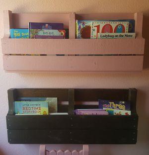 Pallet bookshelves for Sale in Helendale, CA