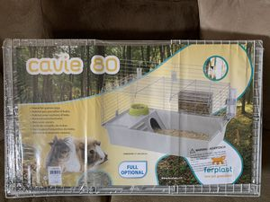 New sealed cavie guinea pig cage with accessories for Sale in Brooklyn, OH