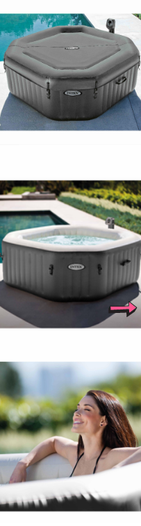 NEW Inflatable Hot Tub 4 Person Jacuzzi Spa Relaxing Bath Bubble Octagonal Outdoor Massage Jets Refreshing Massager Heated Water *↓READ↓* for Sale in Chula Vista, CA