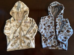 24 month zip up jackets for Sale in Apache Junction, AZ