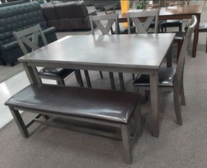 6 pc dining table set for Sale in Buena Park, CA