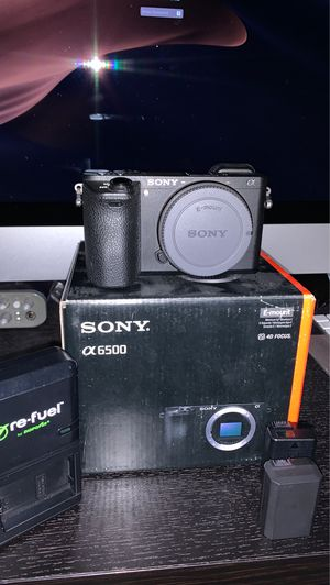 Sony A6500 (great condition) for Sale in Stockton, CA