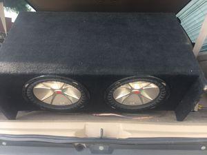 2/12 Kicker CVR Subwoofers !! for Sale in El Cajon, CA