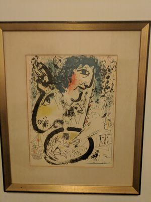 Frame print copy of Marc Chagal painting for Sale in Brooklyn, NY