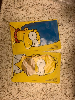 Simpson's face mask for Sale in Ontario, CA