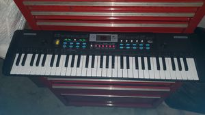 Keyboard (61 keys) with music stand for Sale in Bacliff, TX