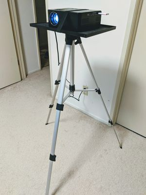 Adjustable Tripod Stand With Tray Laptop Projector Camera Outdoor Home Office for Sale in Torrance, CA
