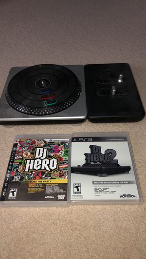 DJ Hero 1 & 2 with Turntable for Sale in Brookeville, MD
