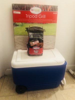 Grill Charcoal and Cooler for Sale in Mount Oliver, PA
