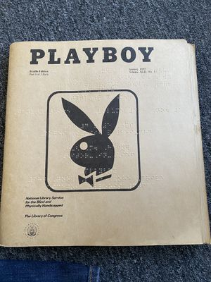 Authentic Braille Playboy Magazine for Sale in Battle Creek, MI