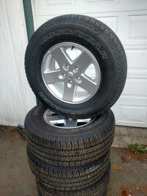 Jeep Wrangler jk wheels tires for Sale in Cosmopolis, WA
