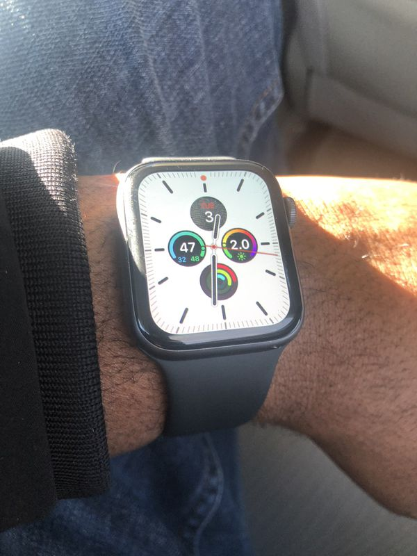 Apple Watch series 4 LTE 44mm with AppleCare warranty