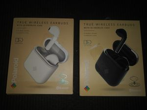 Brand new 2 Pairs Polaroid true wireless earbuds for Sale in Hawthorne, CA