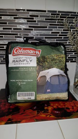 Rainfly for camping tent for Sale in LAKE MATHEWS, CA