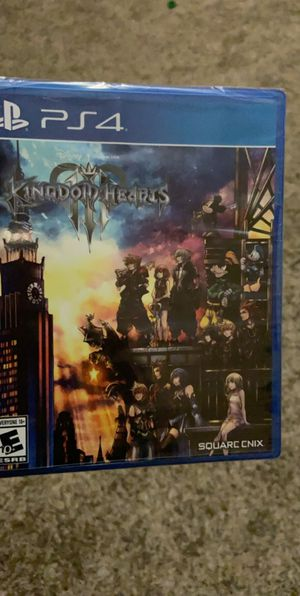 Kingdom Hearts 3 PS4 for Sale in Phoenix, AZ