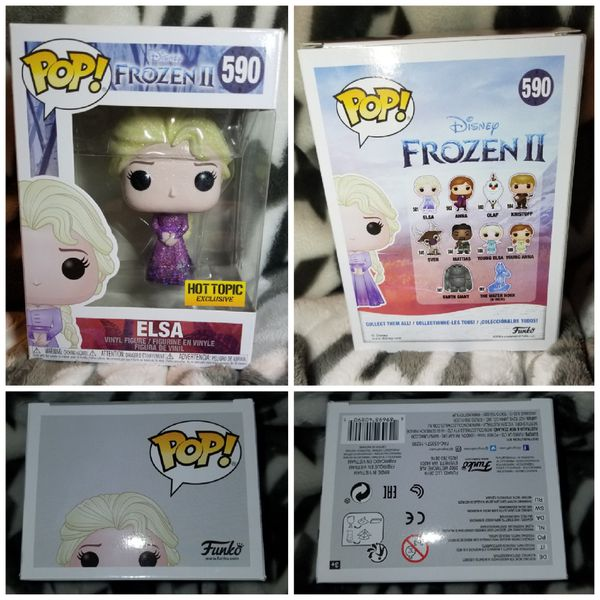 Funko Pop Custom Diamond Edition Elsa