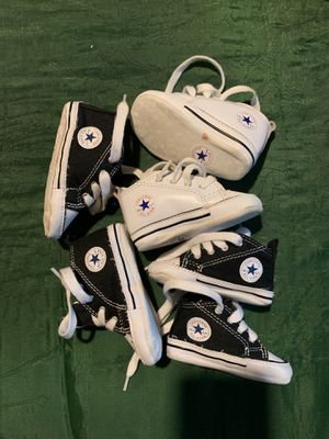 Shoes for baby converse for Sale in Carrollton, GA