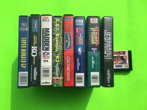 Sega Genesis Sports & Games Lot (9 Games!) for Sale in Missoula, MT