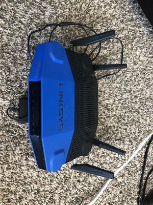 Linksys Wireless Dual Band router for Sale in Odessa, TX