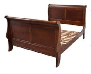 Queen size sleigh bed - pickup only for Sale in Port Arthur, TX