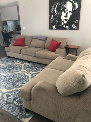 Tan couches for sale for Sale in Navarre, FL