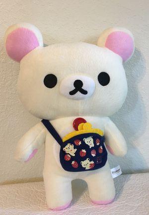 Rilakkuma San X Japanese Stuff Teddy Bear Doll for Sale in Albuquerque, NM