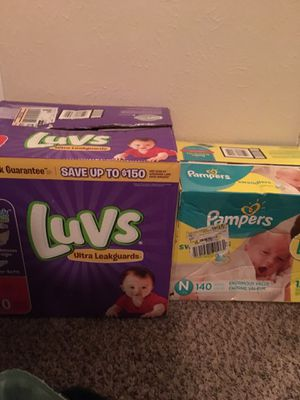 Size 1 Diapers for Sale in Dallas, TX