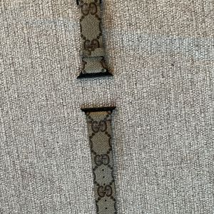 Gucci - Apple Watch Band - Cut From A Real Gucci Bag. for Sale in Des Plaines, IL