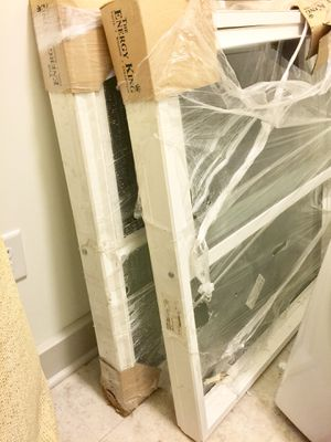 2 Brand New Windows - 30 15/16 W x 16 9/16 H x 7/8 T for Sale in Rockville, MD