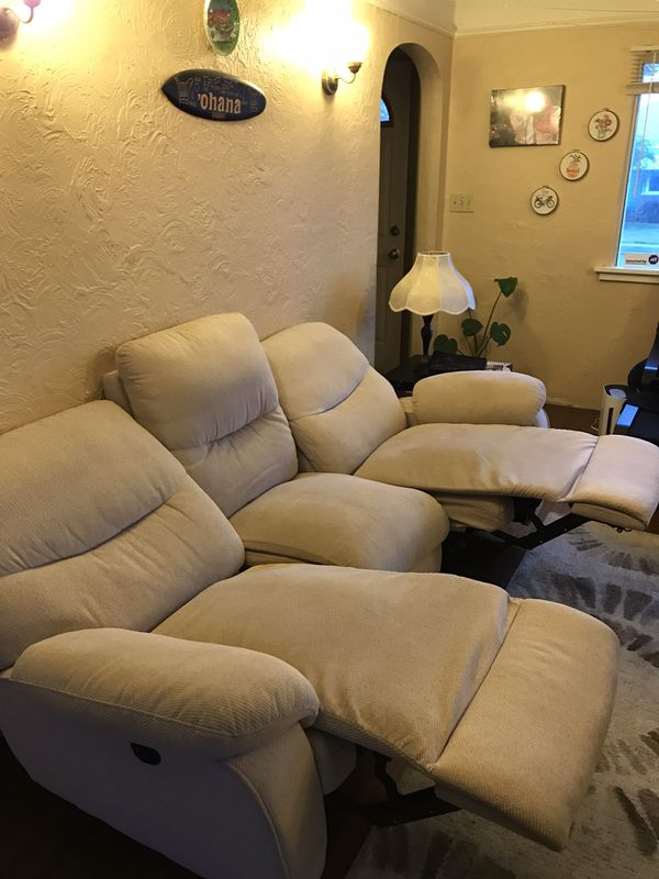 fabric Reclining Sofa