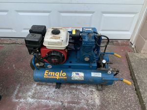Emglo/Jenny gas 8 gallon 5.5hp air compressor for Sale in Leetsdale, PA