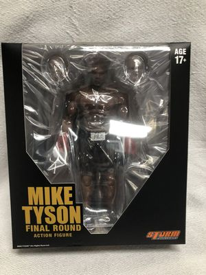 """Mike Tyson Final Round Action Figure Storm Collectibles 7"""" Inch for Sale in La Habra Heights, CA"""