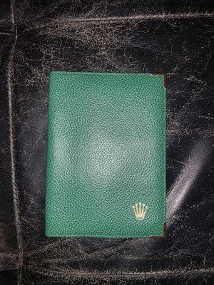 Rolex Passport wallet for Sale in Marathon, FL