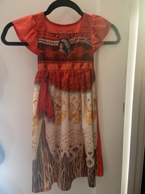 Children Halloween Moana Costume for Sale in San Jose, CA