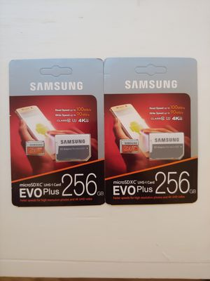Samsung 256GB SD Card Brand New for Sale in TX, US