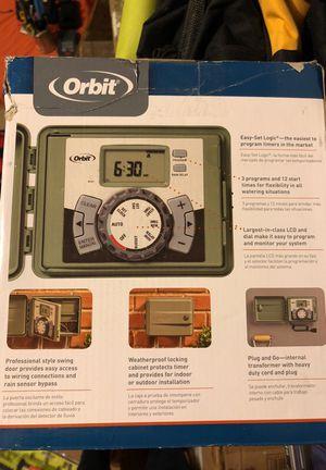 ORBIT EASY- SET LOGIC SPRINKLER TIMER 12 STATION for Sale in Milltown, NJ