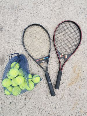 Tennis Rackets and Balls for Sale in Englewood, CO
