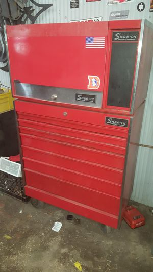1970s snap on tool box for Sale in Aurora, CO