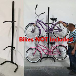 New in box 2 bicycle beach cruiser mountain bike stand carrier rack bikes are not included for Sale in Whittier, CA