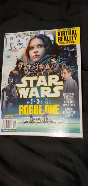 People The Secrets of Rogue One Exclusive for Sale in Lake Elsinore, CA